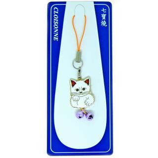 hard enamel charm | hard enamel pins | cloisonne kitty charm