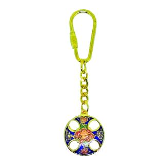 Enamel Hollow Key Chain | Cloisonne Hollow Key Chain